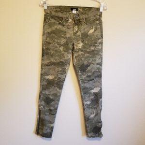BDG Camo Moto Style Jeans